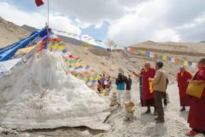 Ice Stupa HH