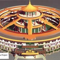Bodhgaya plan temple