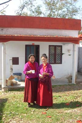 Nonnen des Retreats