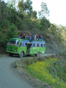 Pilgerreise Bus