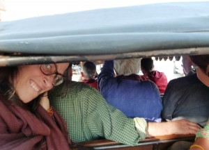 Pilgerreise Taxi