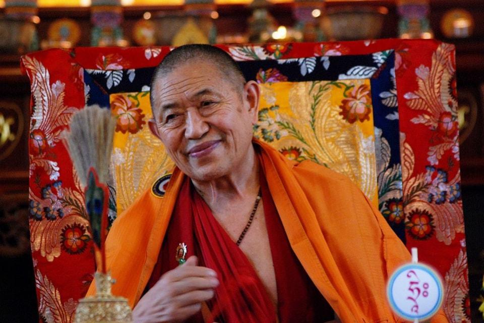 Aufruf zur Langlebenspraxis für S.E. Garchen Rinpoche