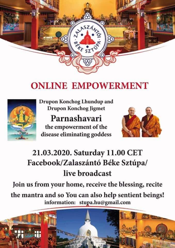 Parnashavari empowerment