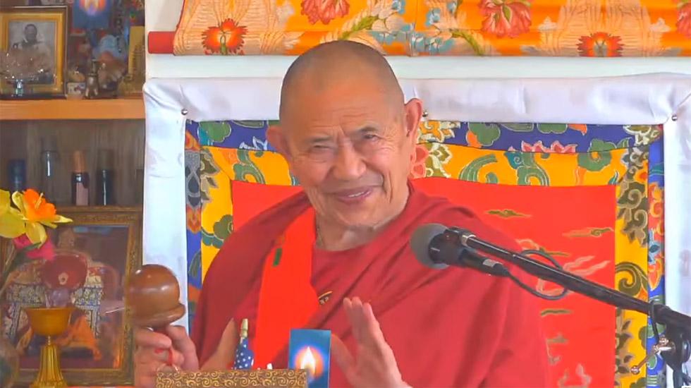 Achi-Einweihung und das Bittgebet an die sieben Taras mit S.E. Garchen Rinpoche
