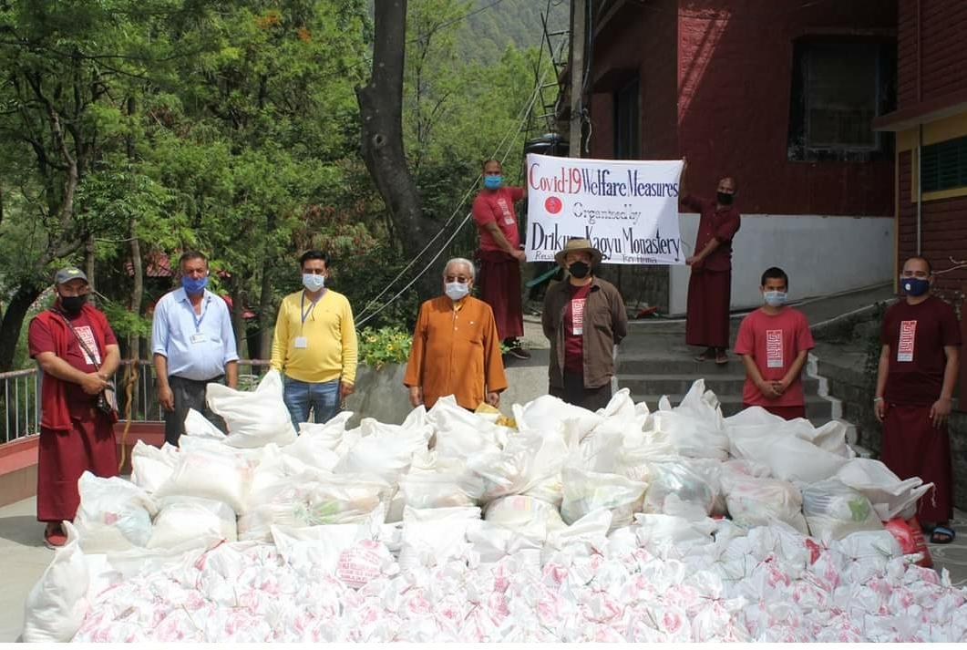 Bitte helft Lho Ontul Rinpoche die Einwohner von Tso Pema zu versorgen