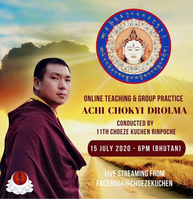 Choeze Kuchen Rinpoche Achi_Broadcast